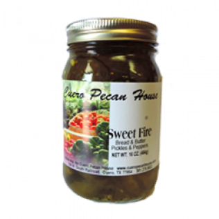 Sweet Fire Bread and Butter Pickles and Peppers